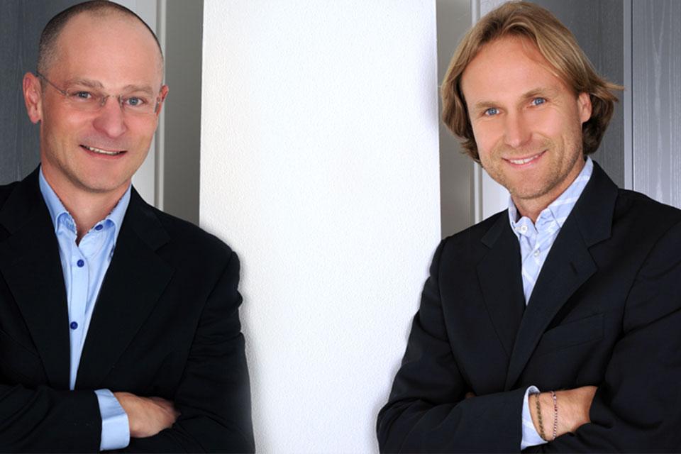 danlab Geschäftsführer Kim Wium-Andersen und Olav Friis