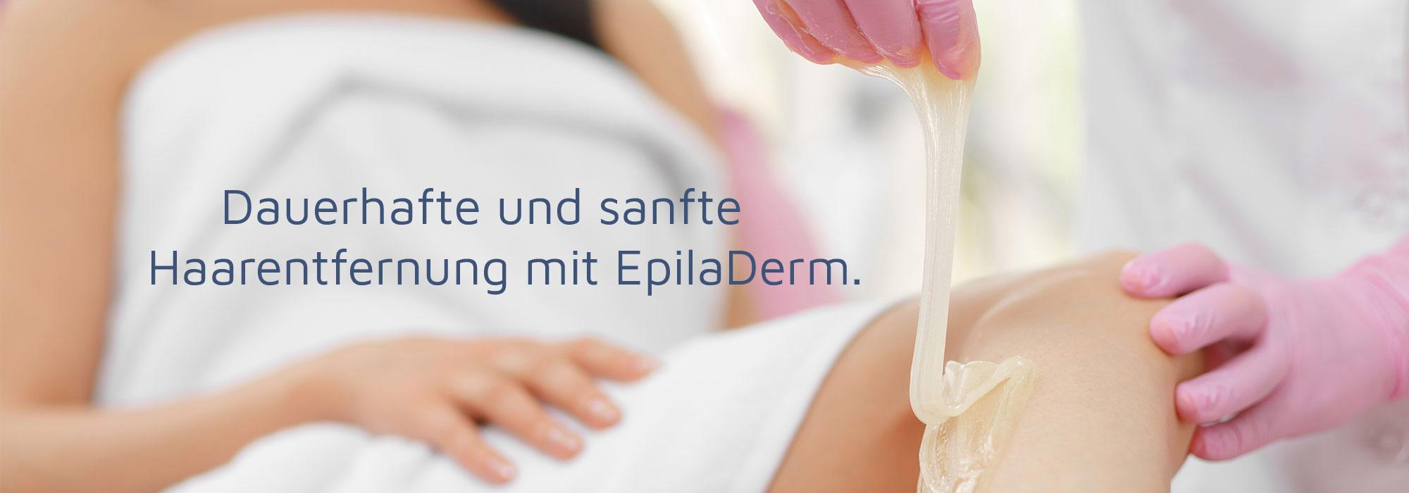 Dauerhafte und sanfte Haarentfernung mit EpilaDerm Sugaring